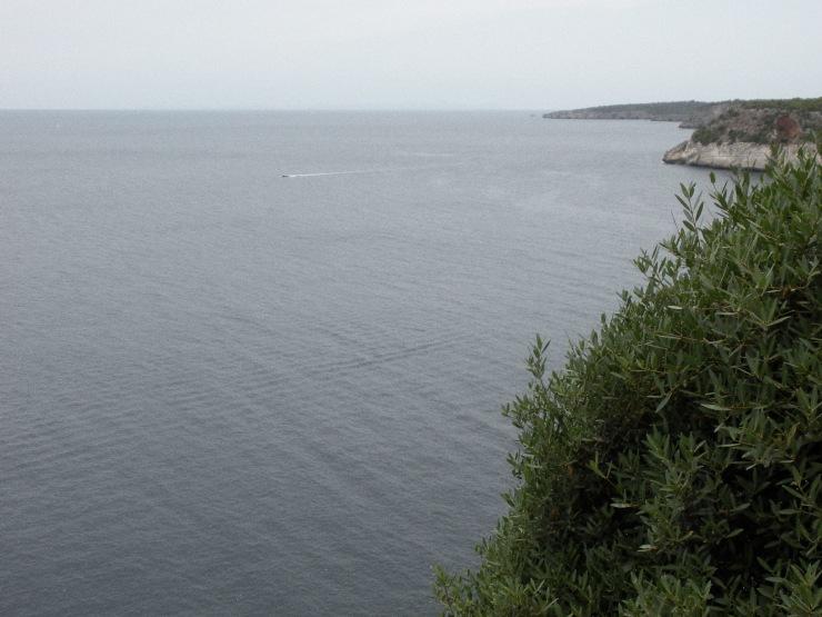 view near Cala Macarella